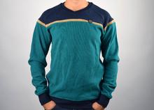 Модна мъжка блуза плетиво