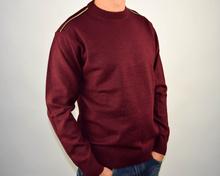Луксозен мъжки пуловер в три цвята ВЪЛНА