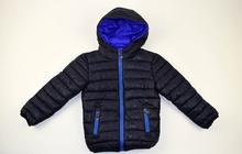 Детско зимно яке в тъмно синьо 8-16г.