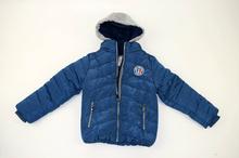 Детско зимно яке с текстилна качулка 4-12г.