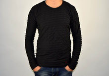Стилна мъжка блуза в черно