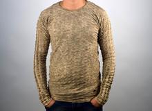 Стилна мъжка блуза в бежово