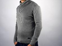 Мъжка блуза/пуловер със страхотна яка