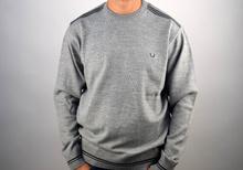 Луксозен мъжки пуловер в светло сиво ВЪЛНА