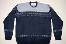 Мъжки стилен пуловер Размери до 5ХЛ в сиво