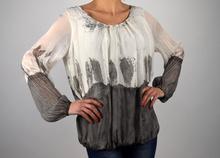 Дамска стилна блуза-коприна МОДЕЛ 2016 г.