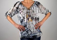 Дамска ефирна модна блуза