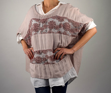 Дамска блуза/туника от две части