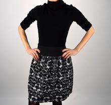 Дамска модна рокля с поло яка