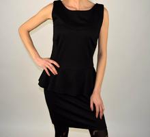 Дамска елегантна черна рокля
