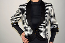 Дамско късо модно сако