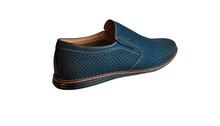Страхотни мъжки обувки - синьо