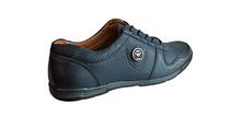 Спорно-елегантни мъжки обувки - синьо