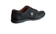 Спорно-елегантни мъжки обувки-черно