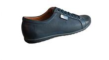 Мъжки спортно-елегантни обувки FASHION- тъмно синьо