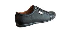 Мъжки спортно-елегантни обувки FASHION- черно