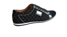 Спортно елегантни мъжки обувки кожа и велур