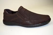 Класически мъжки обувки-кафяв цвят
