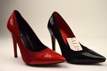 стилни лачени обувки