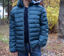 Мъжко зимно яке FRANK зелено