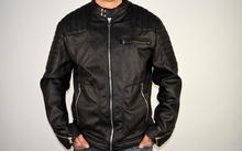 Мъжко пролетно - есенно яке  ANDREY - черно