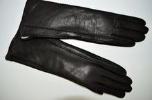 Модни дълги дамски ръкавици - 019 - кафяви