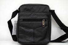 Мъжка чанта ЕСТЕСТВЕНА КОЖА GARY - черна