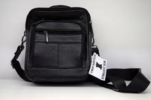 Мъжка чанта ЕСТЕСТВЕНА КОЖА RON - черна