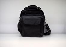 Мъжка чанта ЕСТЕСТВЕНА КОЖА  KARL - черна