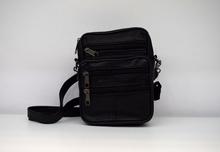 Мъжка чанта ЕСТЕСТВЕНА КОЖА ANDREY - черна