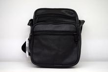 Мъжка чанта ЕСТЕСТВЕНА КОЖА ARNY - черна