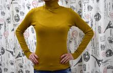 Дамска блуза с дълъг ръкав - KATELYN- горчица