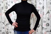 Дамска блуза с дълъг ръкав - KATELYN- черна