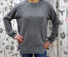 Дамска блуза с дълъг ръкав - KIMBERLY- сива