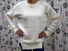 Дамска блуза с дълъг ръкав -KIMBERLY- бяла