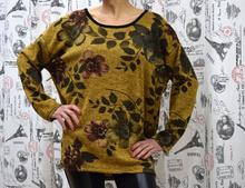 Дамска блуза с дълъг ръкав- ERIN - горчица