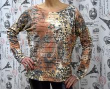 Дамска блуза с дълъг ръкав -CAROLINE - цветна