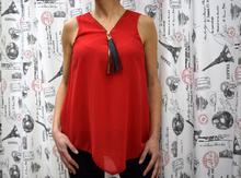 Дамски елегантен потник - MOLLY - червен