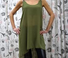 Дамска туника - JAYDEN - тъмно зелена
