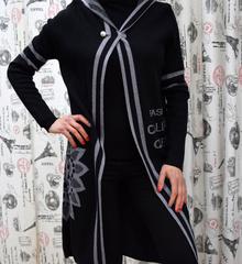 Дамска жилетка - PAIGE - черна