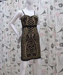 Елегантна дамска рокля - JAYDEN - черна