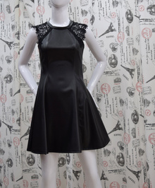 Елегантна дамска рокля -SADIE - черна