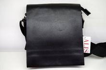 Мъжка чанта ЛУКС колекция - BRANDON - черна