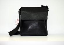 Мъжка чанта ЛУКС колекция - JACOBL- черна кожа