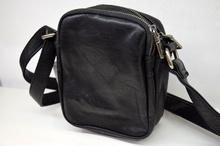 Мъжка чанта ЛУКС колекция - BENJAMIN - черна