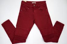Дамски панталон тип потур - WATER JEANS - бордо