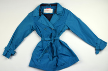 Модно пролетно яке - FASHION AND STYLE - синьо за 10 и 14 годишни