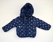 Есенно детско яке - OLIVIA - тъмно синьо от 1 до 5 годишни