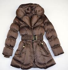 Детско зимно яке - ISABELLA - кафяво за 4 годишни