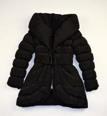 Детски зимно яке - BELLA - черно за 5/6 годишни